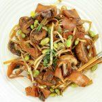 Korean style mushrooms